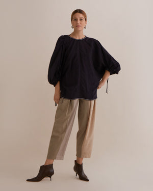 Rowan Blouse Linen Black - SPECIAL PRICE