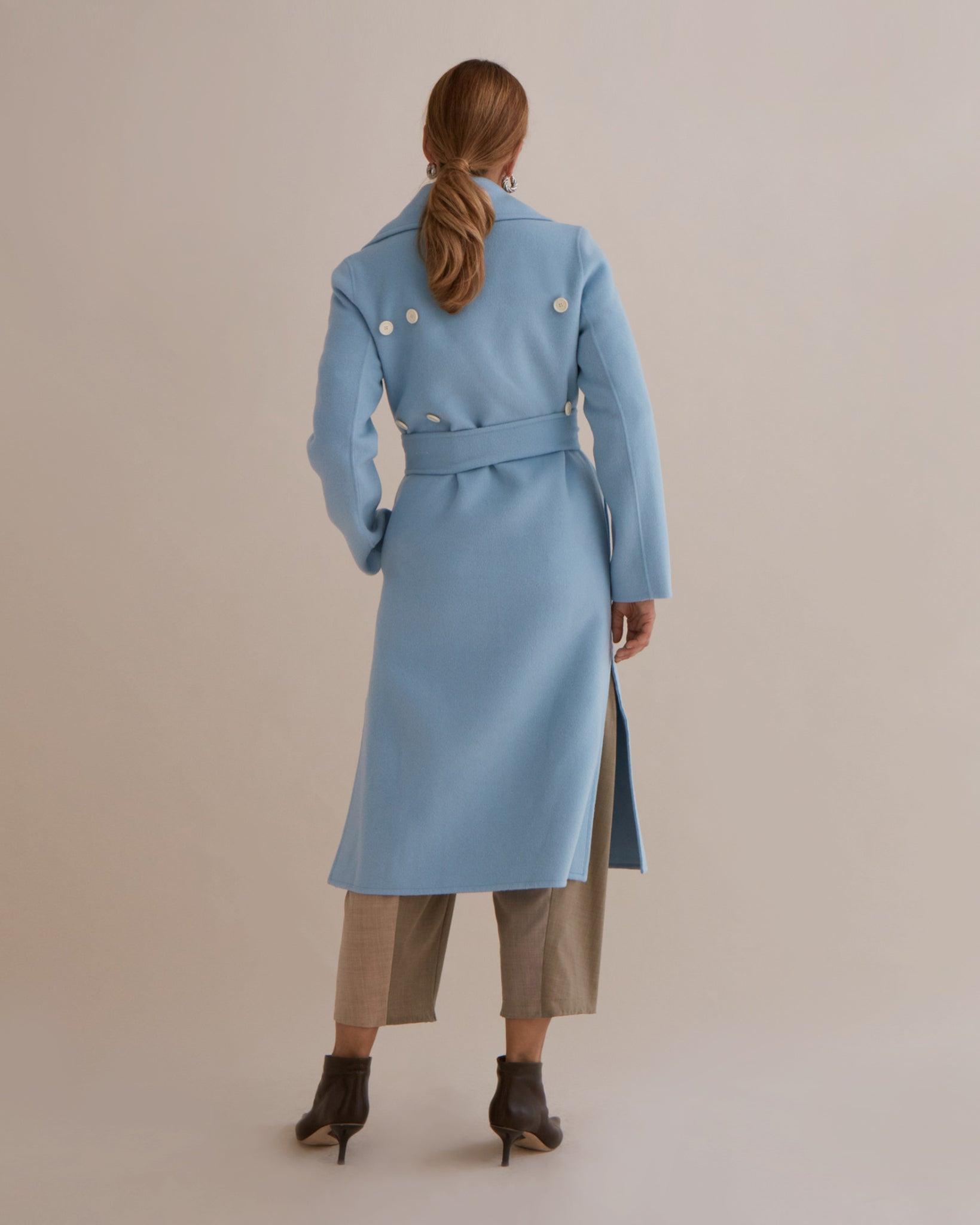 Simone Coat Wool Blue