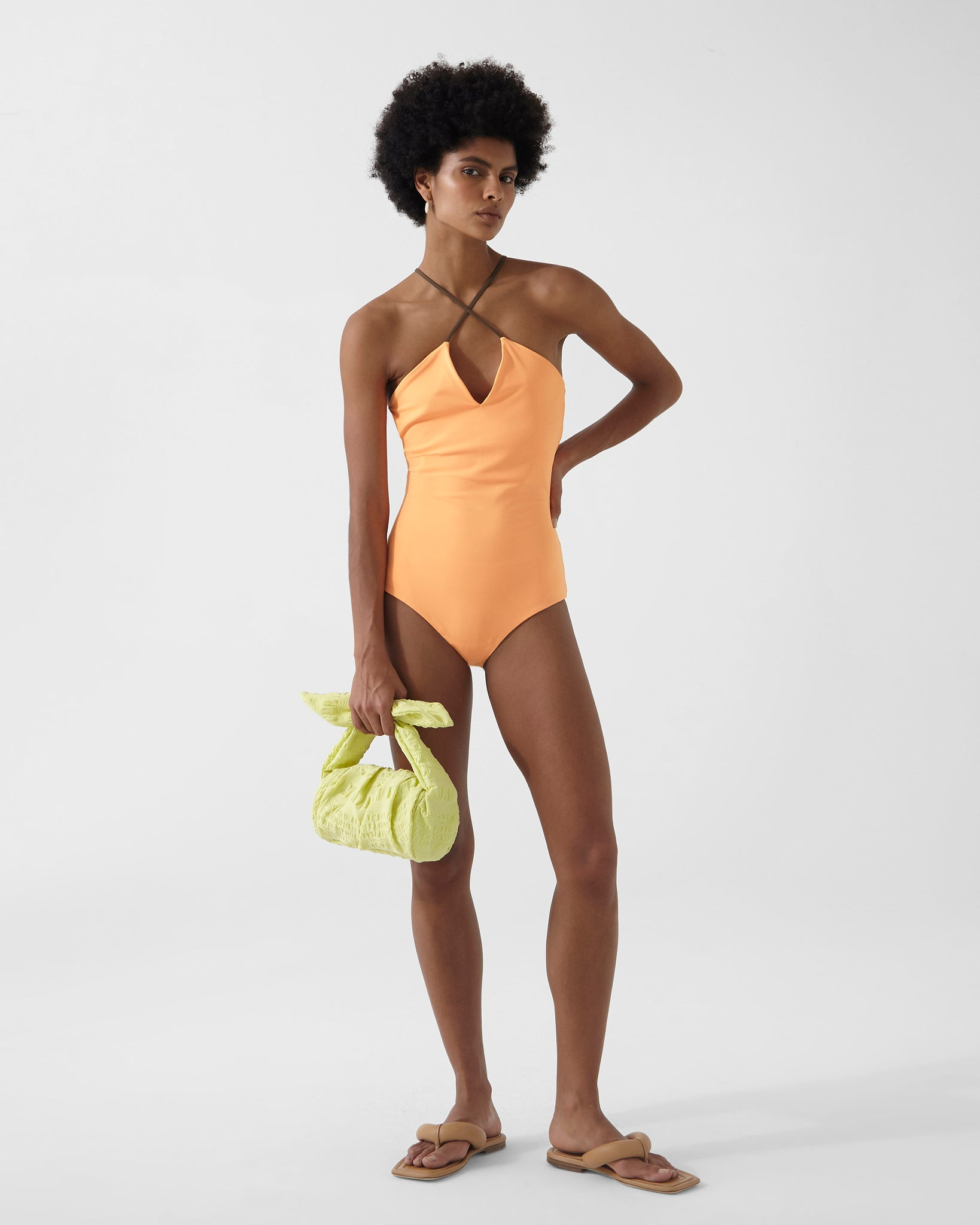Ava One-piece Orange