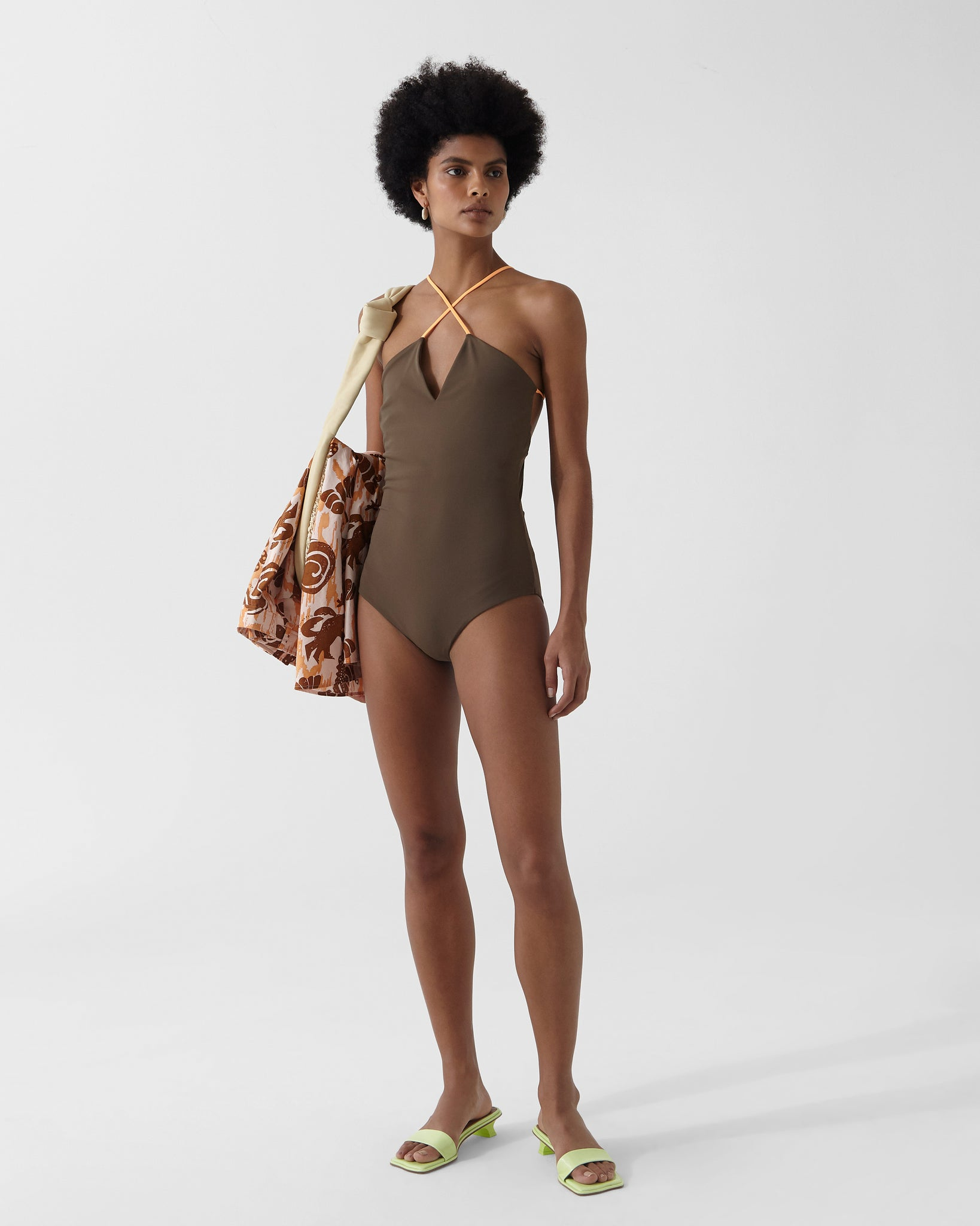 Ava One-piece Chocolate