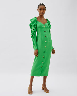 Betty Dress Green