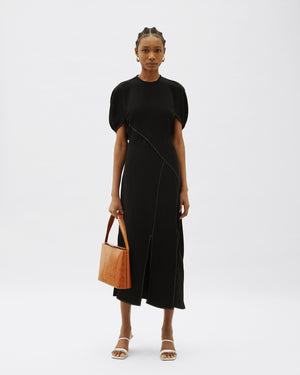 Lucinda Dress Crepe Black