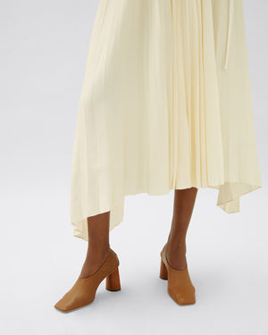Kiera Skirt Viscose Ivory