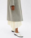 Marlene Coat Wool Grey