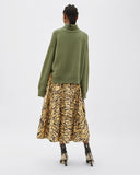 Lyn Sweater Regenerated Cashmere Green