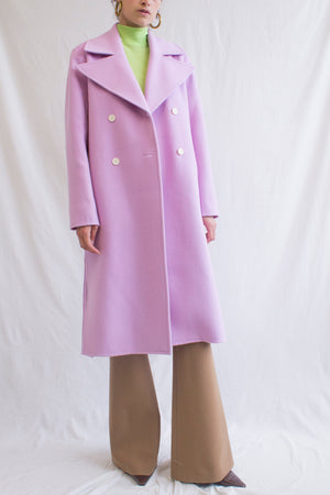 Simone Coat Wool Lavender