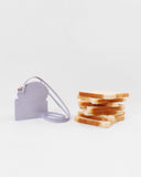 Toastie Pouch Leather Emboss Lavender