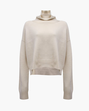 Peyton Sweater Regenerated Cashmere Ivory