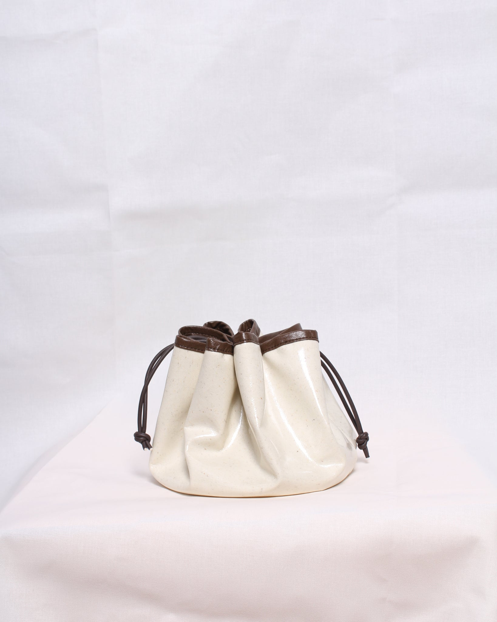 Aida Bag Wool Coated Ivory - SPECIAL PRICE