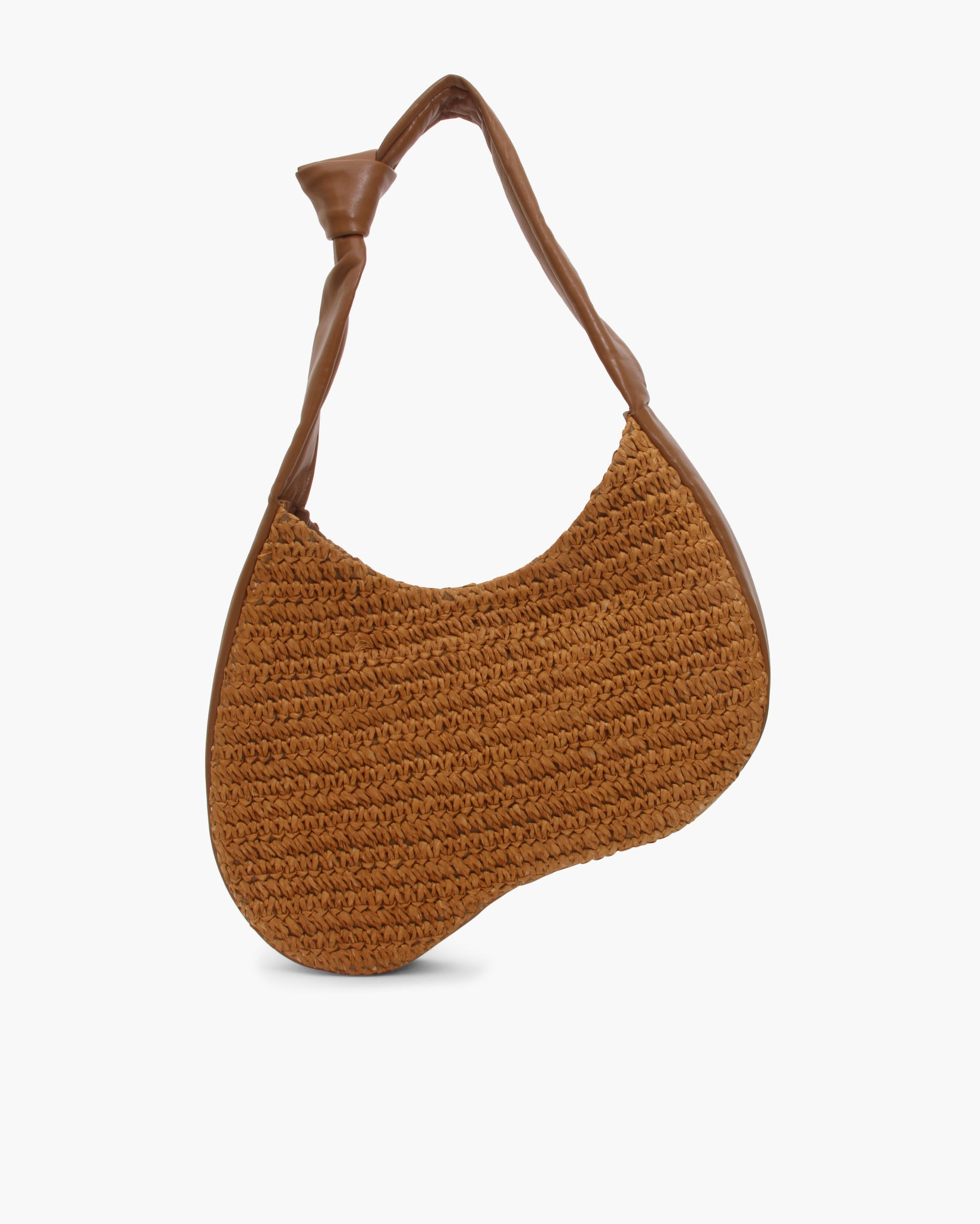 Allegra Bag Raffia Brown