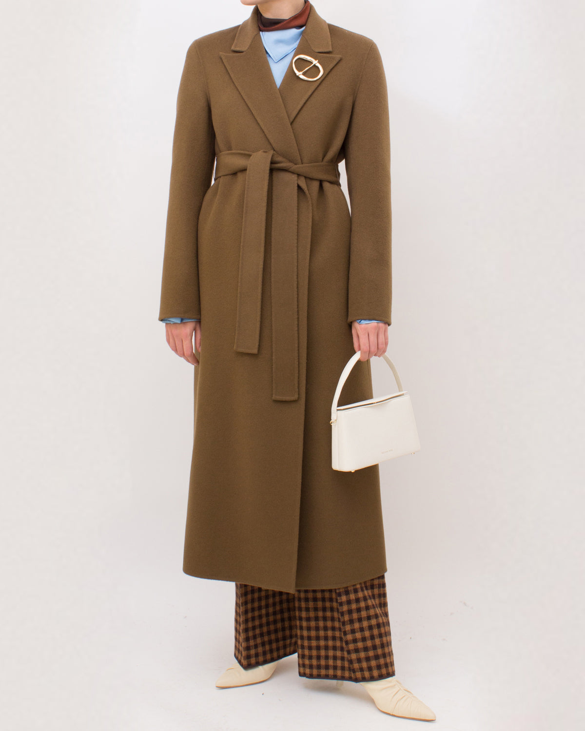 Ava Coat Wool Chesnut