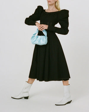 Carla Dress Cotton Black