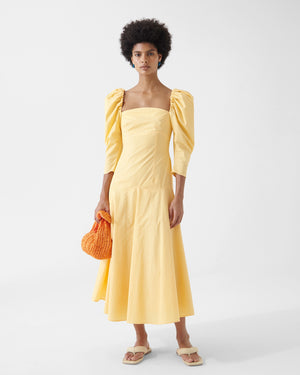 Celeste Dress Organic Cotton Yellow