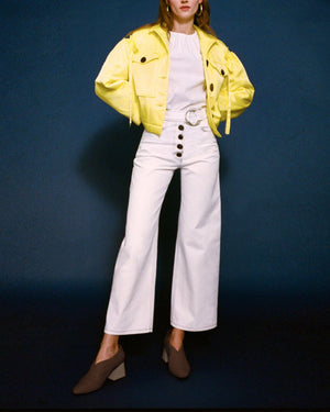 Daphne Jacket Silk Citrus Yellow