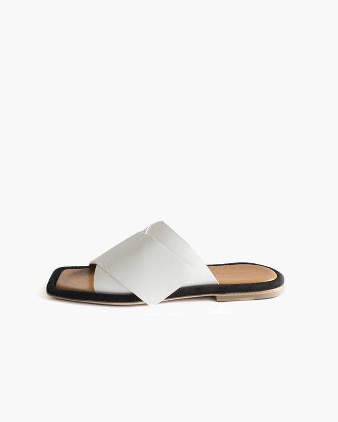 Dara Slipper Ivory