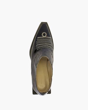 Dolores Brogues Leather Patent Black