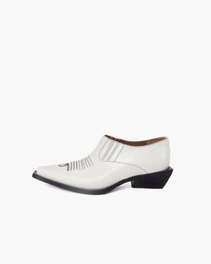 Dolores Brogues Leather White