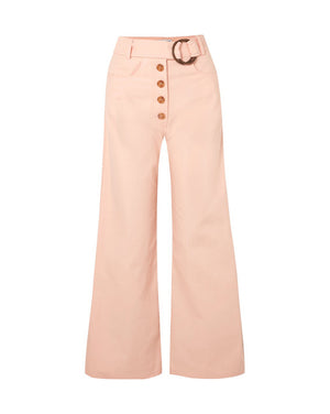 Emily Jeans Cotton Denim Light Peach