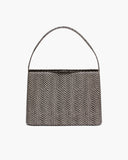 Felix Bag Leather Polka Snake Black and White