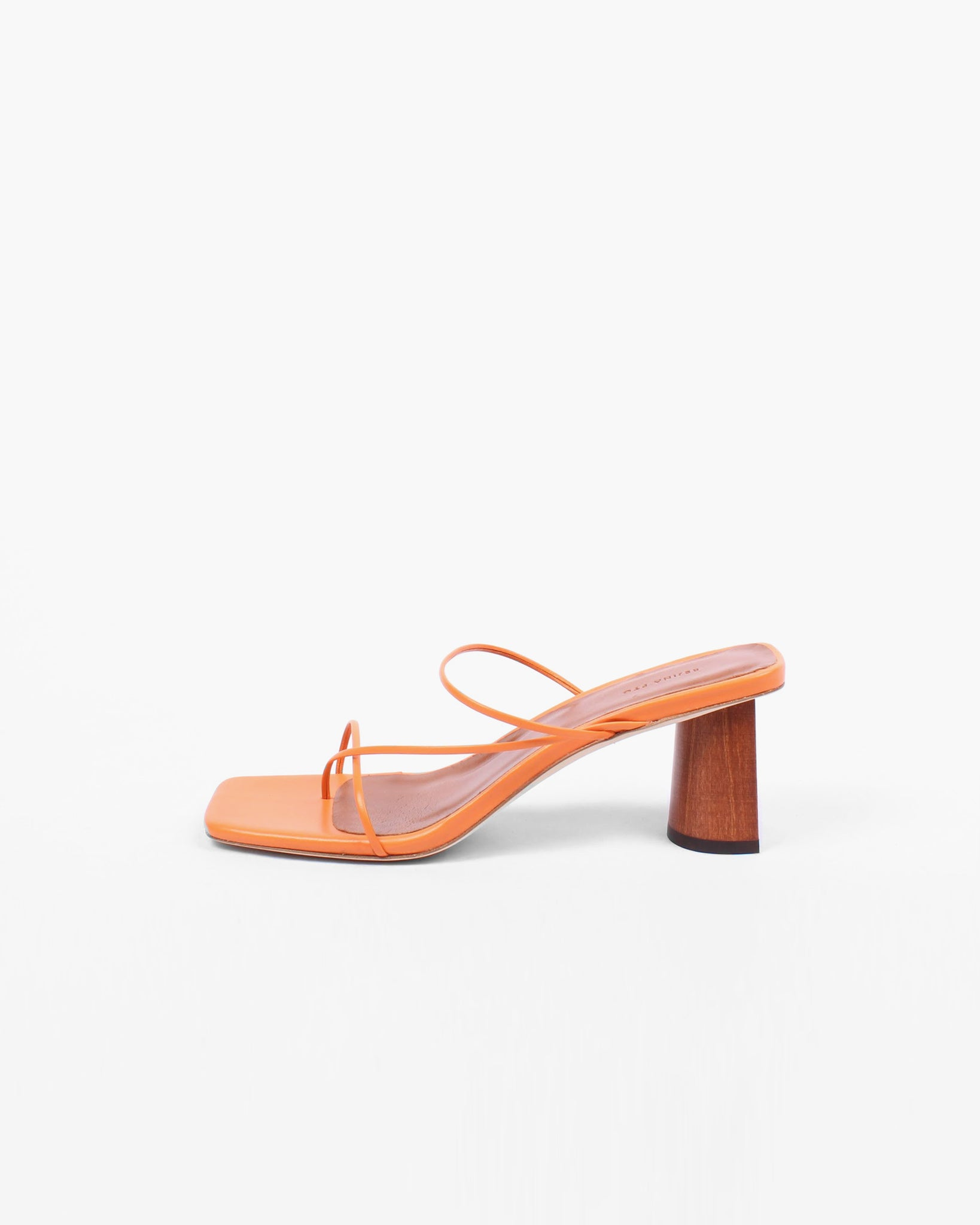 Harley Sandal Leather Orange