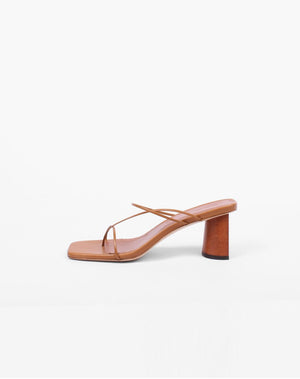 PRE-ORDER/ Harley Sandals Leather Walnut Brown