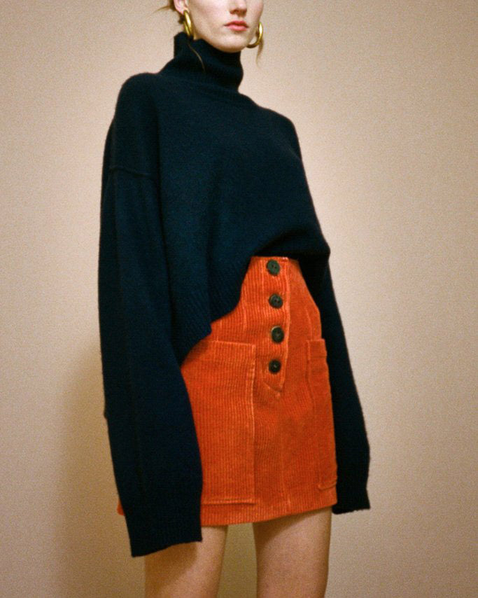 Lyn Oversized Sweater Cashmere Navy
