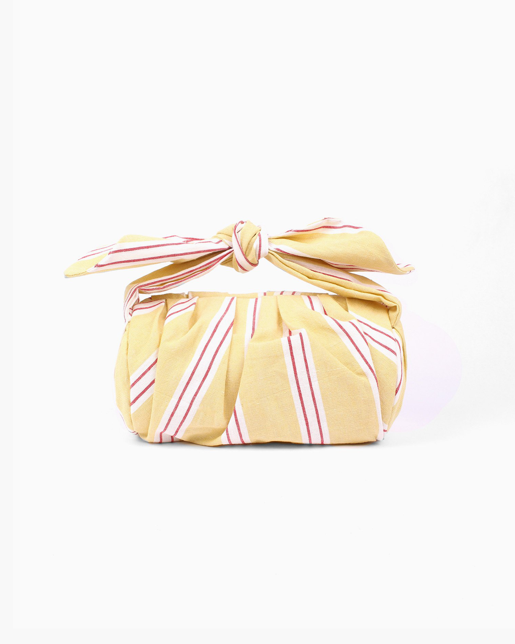 Nane Bag Linen Yellow Stripe