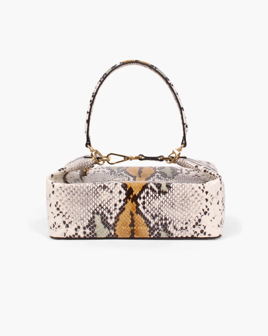 Olivia Bag Leather Snake Multi