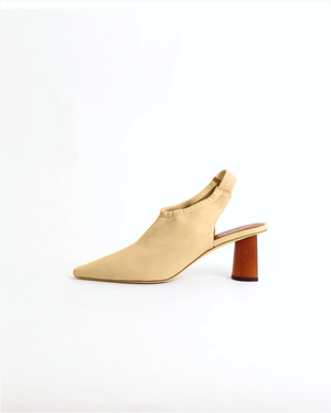 Riley Slingback Leather Peach Cream - SPECIAL PRICE