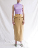 Sabina Skirt Cotton Camel