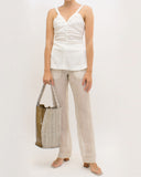 Norma Trousers Linen Voile Natural - SPECIAL PRICE