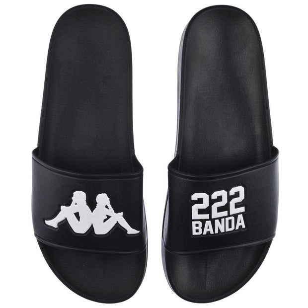 Kappa Authentic black slides