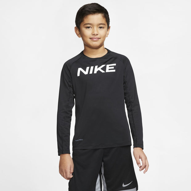 Nike Pro Jr. Long Sleeve Top