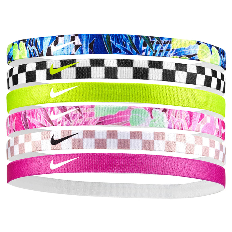 Nike Printed Headbands 6PK