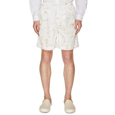 RISO OUTLINE SWIMSHORT OFF-WHITE
