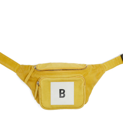 B LOGO BUMBAG LEMON YELLOW