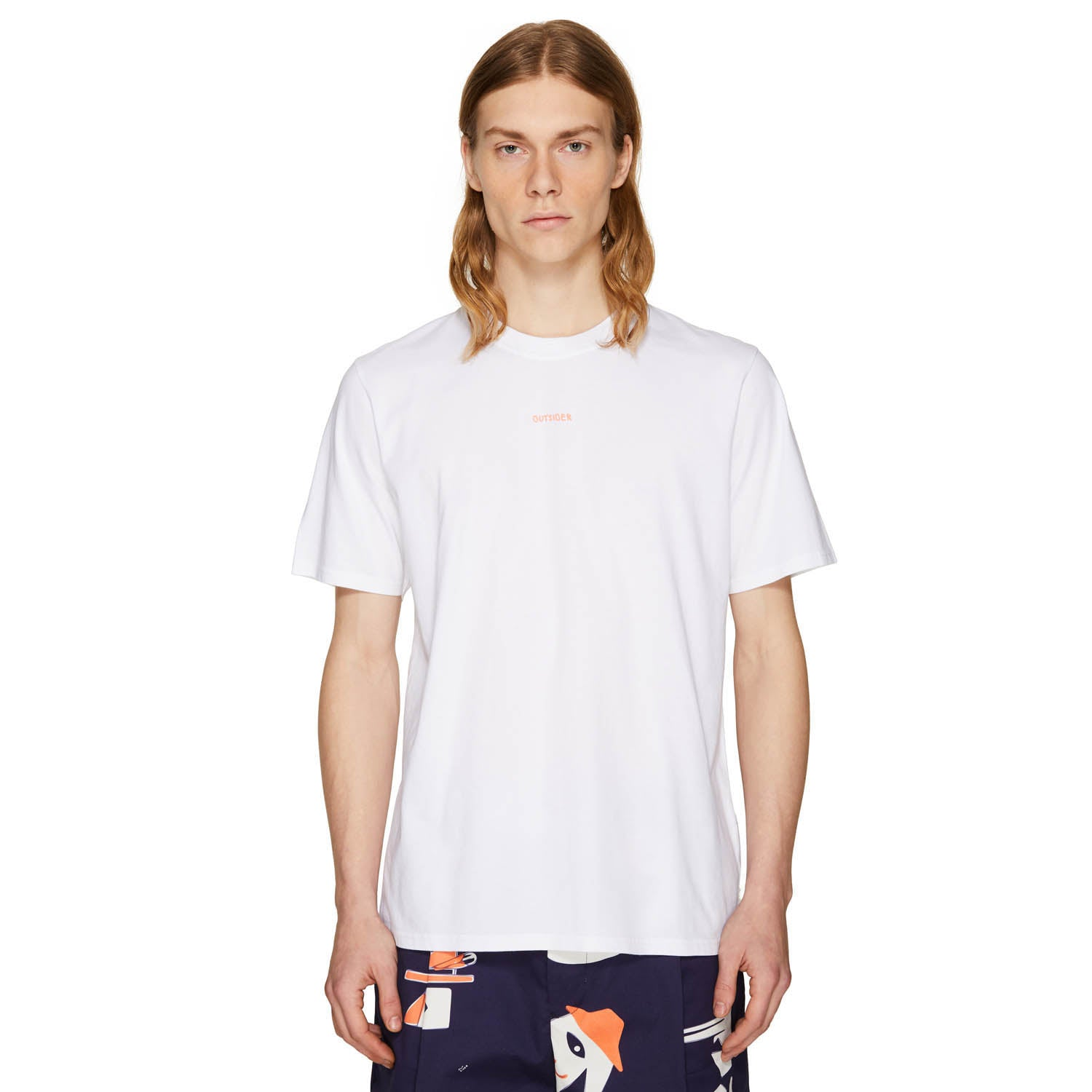 OUTSIDER T-SHIRT OFF-WHITE