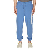 PRINTED SWEATPANTS BLUE WATER