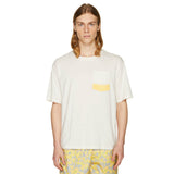 PRINTED OVERSIZED T-SHIRT NAVY OFF-WHITE