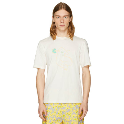 RISO DUDE T-SHIRT OFF-WHITE