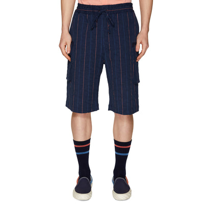 PATCH POCKET SHORTS NAVY