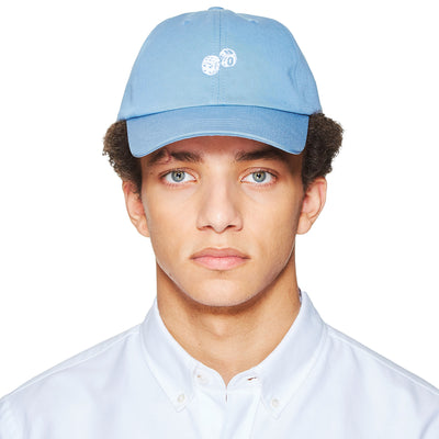DICES EMBROIDERED AQUA CAP