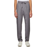 FORMAL DRAWSTRING TROUSERS GREY