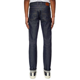 Checked Band Denim Trousers