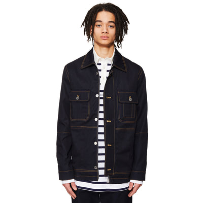 Workwear Denim Jacket Navy