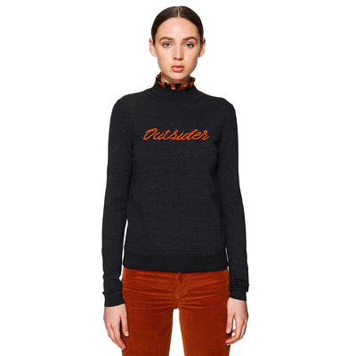 Outsider Jumper Charcoal