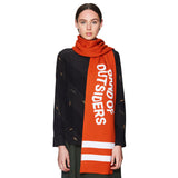 Band Scarf Spicy Orange