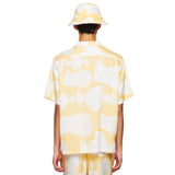 HAWAIIAN MARBLE YELLOW SHIRT