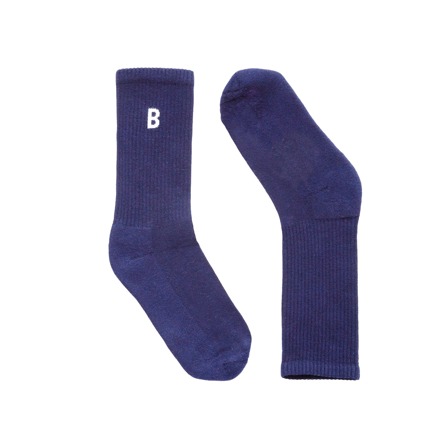 B Sport Navy Socks