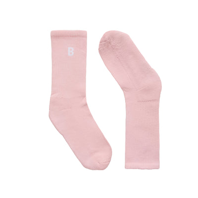 B Sport Blush Socks